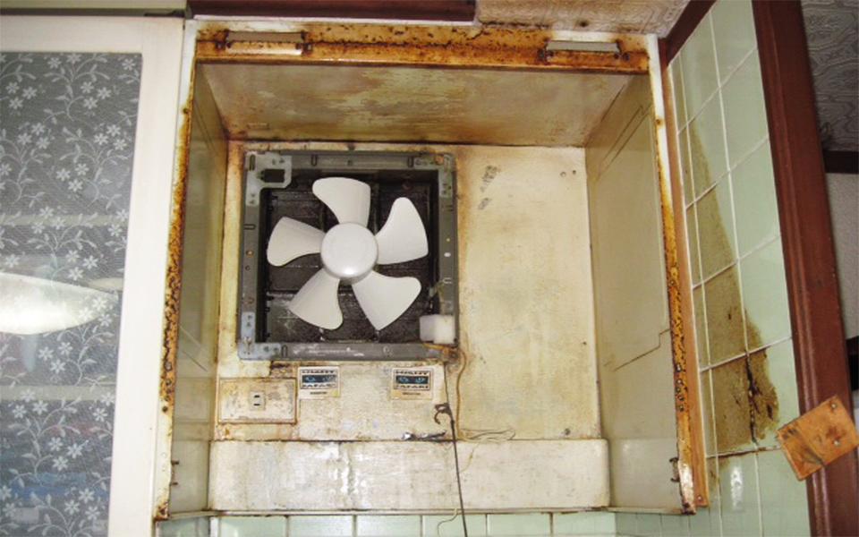 換気扇の取替え工事